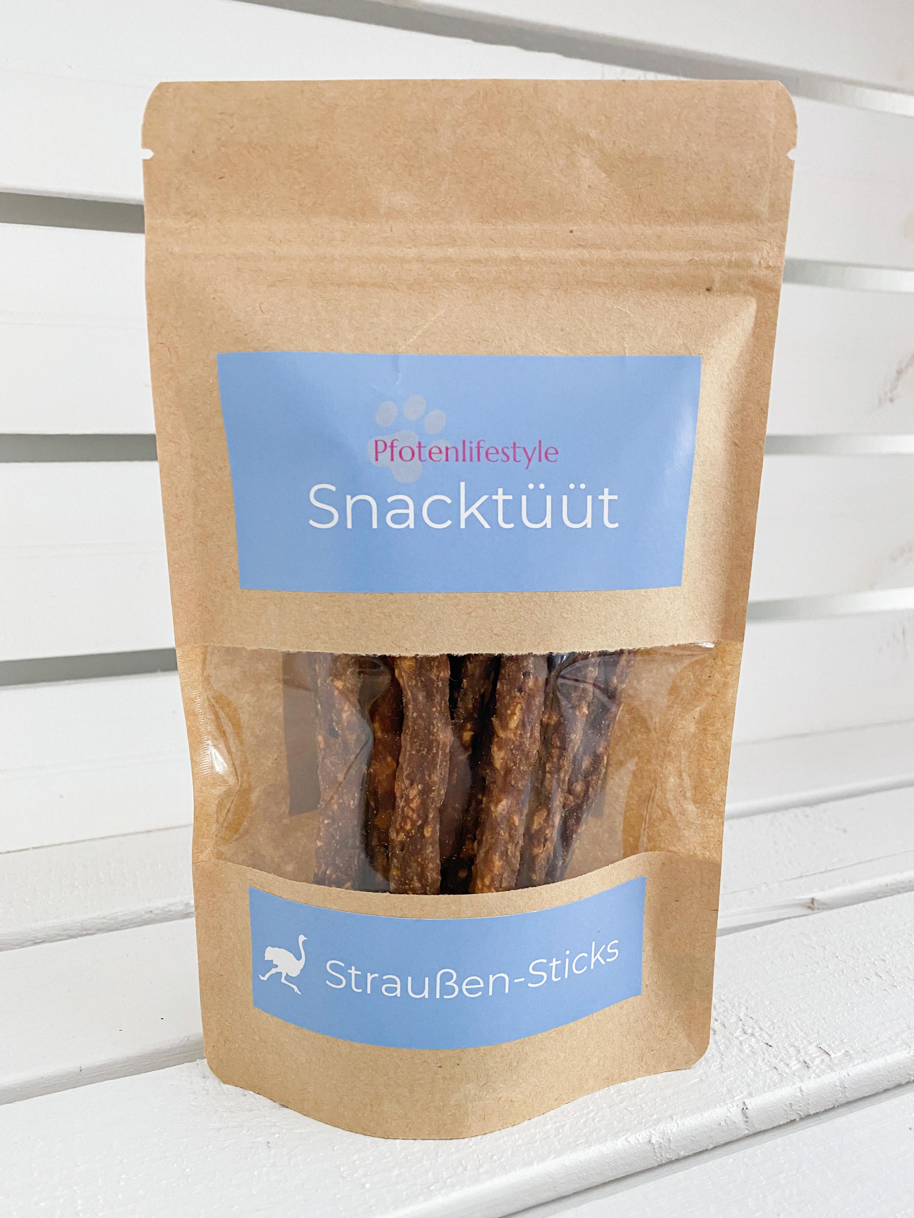Snacktüüt Straußen-Stick