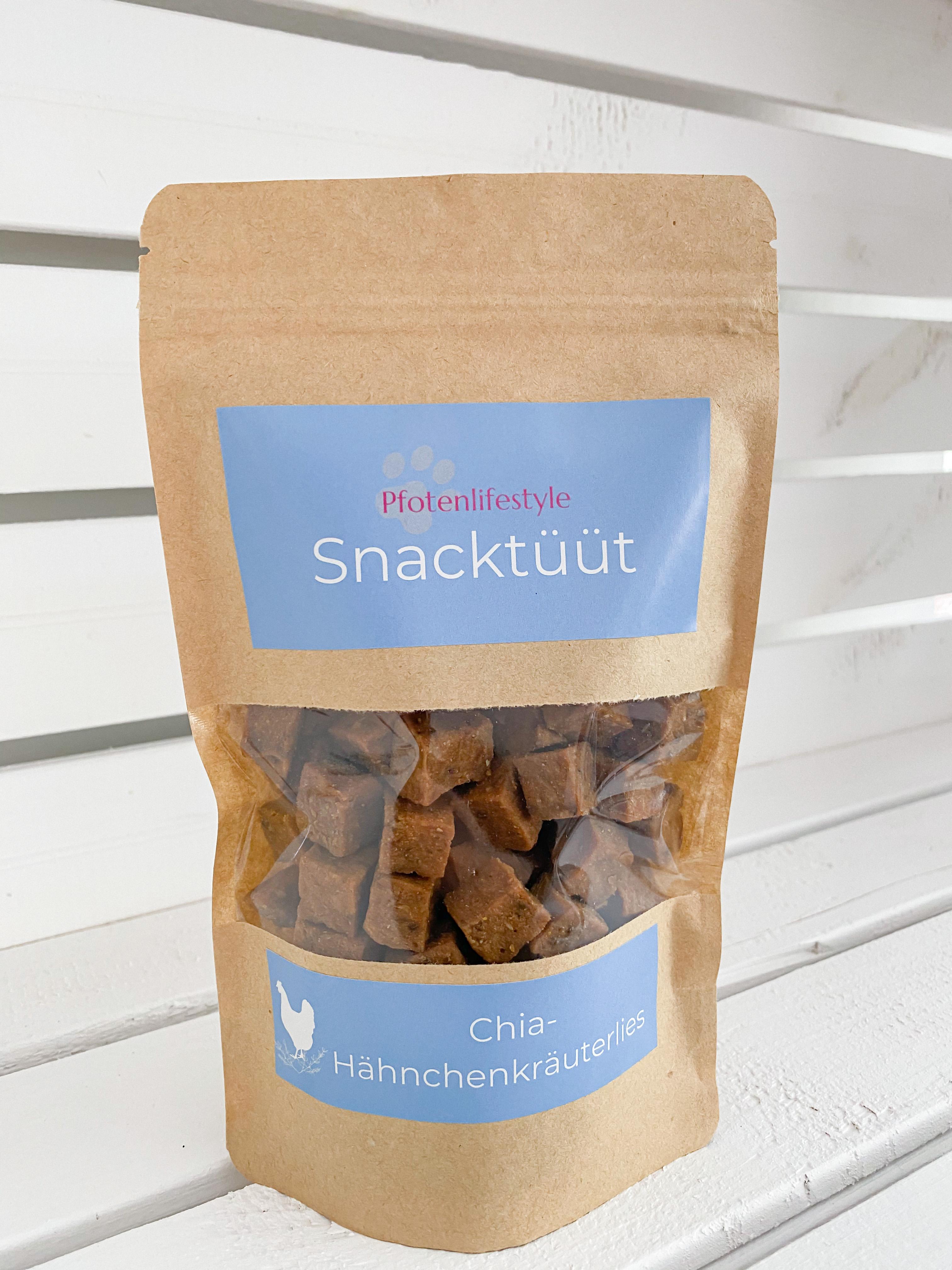 Snacktüüt Chia Hähnchenkräuterlies