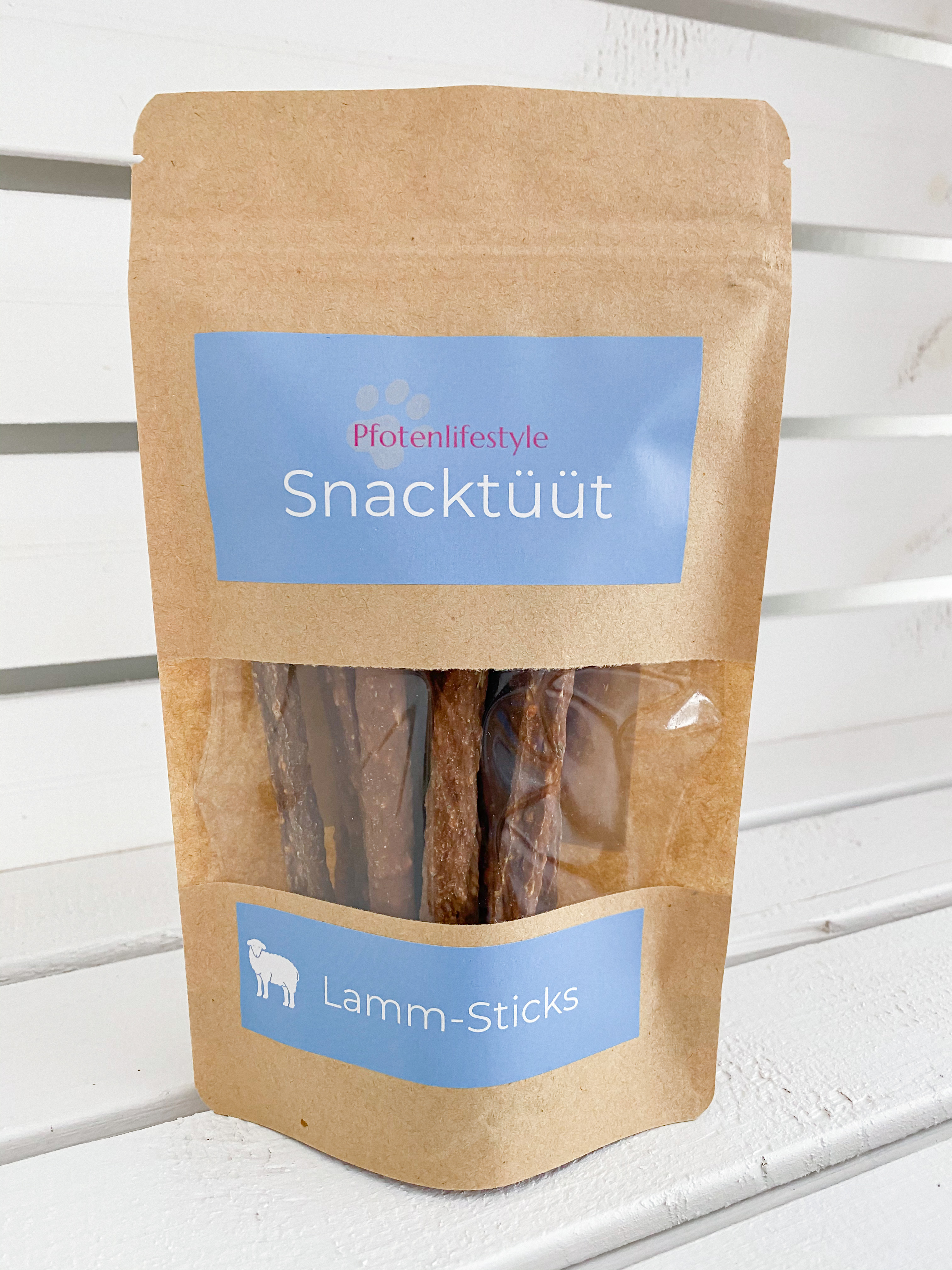 Snacktüüt Lamm-Sticks